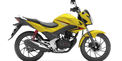 Honda CBF 125 Motorcycle - Colour Yellow, CMG