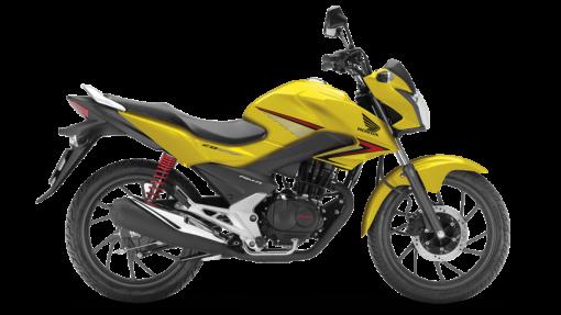 Honda CBF 125 Motorcycle - Colour Yellow, CMG
