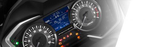 closeup - Forza300 LCD screen