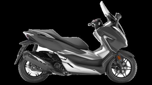 Honda Forza 300 Scooter - Matt Cynos Grey Metallic