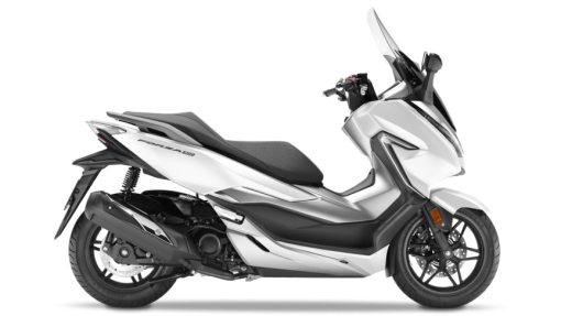 Honda Forza 300 Scooter - Matt Pearl Cool White