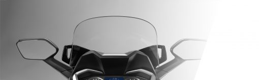 Honda NSS300A Forza closeup - windscreen