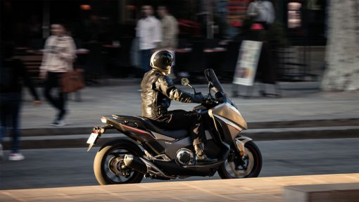 Honda Integra riding to London