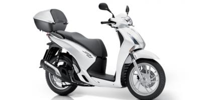 Honda SH125i - White Gray colour, Scooters LTD, UK