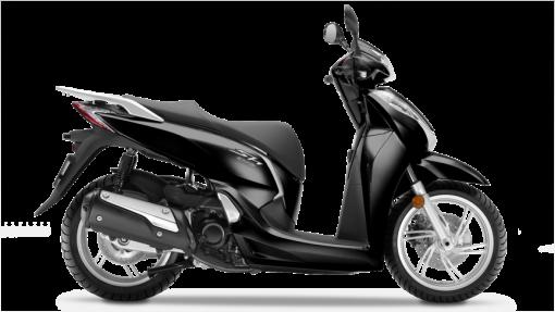 Honda SH300i Scooter - Black colour, UK