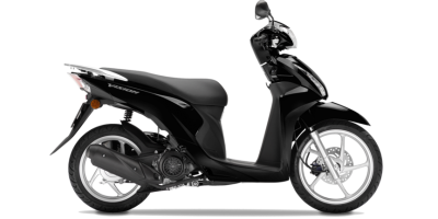 Honda NSC110 Vision Scooter – Pearl Nightstar Black colour, CMG, UK