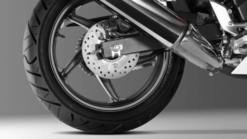 Honda CBR300R Motorcycle - back wheel, London