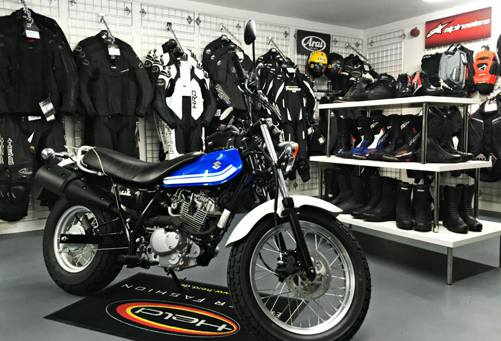 Chelsea Motorcycle Clothing Shop - Motorbike