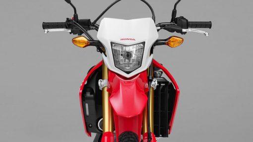 Honda CRF250L Motorcycle - front view, CMG