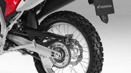 Honda CRF250L Motorcycle - back wheel, Chelsea