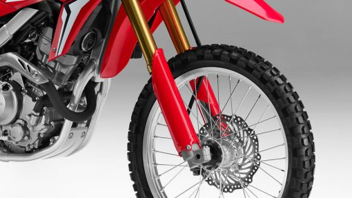 Honda CRF250L Motorcycle - front wheel, London