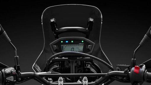 CRF250 Rally Motorbike, speedometer, Chelsea