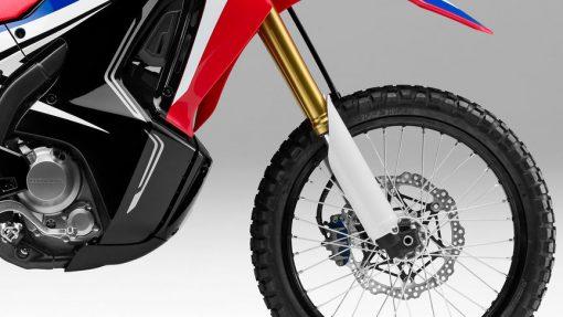 Honda CRF250 Rally Motorbike - back wheel