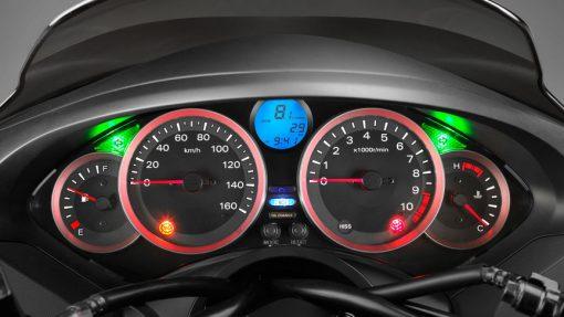 Honda Forza 300 Scooter speedometer - London
