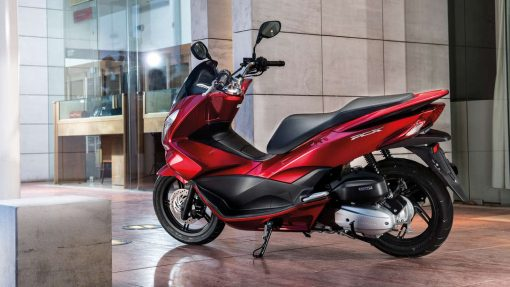 PCX Scooter - Red colour, Chelsea Motorcycles Group