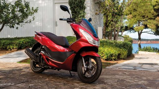 PCX - Red colour, Scooters LTD