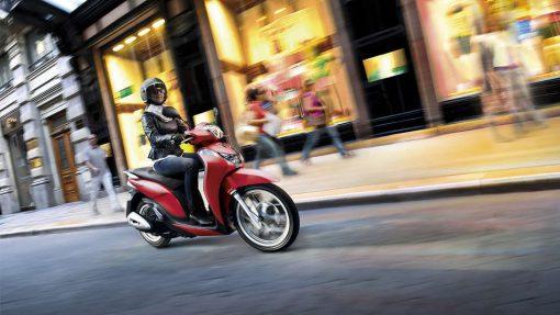 Honda SH MODE - riding, London