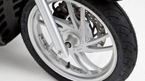 Honda SH125 Scooter - wheel, Chelsea Motorcycles