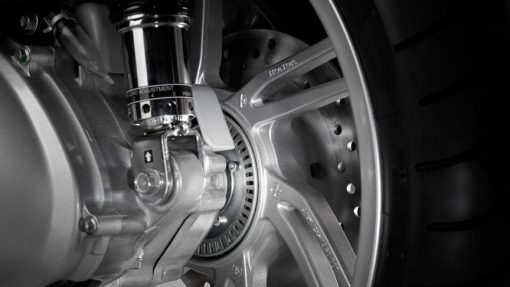Honda SH300 wheel, Chelsea Motorcycles Group