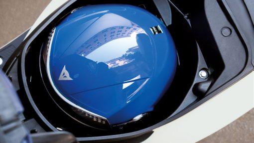 Honda VISION 50 Scooter helmet storage