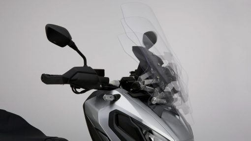 Honda X-ADV Scooter, close view, windshield