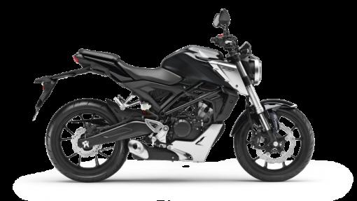 Honda CB125R Road Motorcycle - Black colour