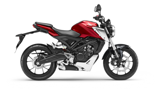 Honda CB125R Road Motorcycle - Candy Chromosphere Red Colour