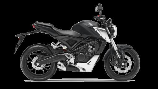 Honda CB125R Road Motorcycle - Matt Axis Grey Metallic colour