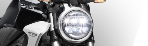 Honda CB300R motorcycle - front light