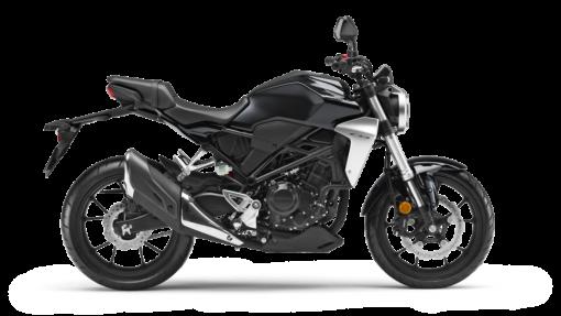Honda CB300R road bike - black colour