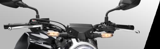 Honda CB300R street bike - aluminium handlebars