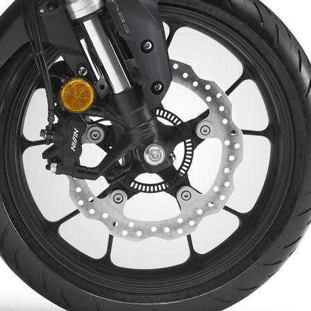 Honda CB300R street motorbike - front wheel