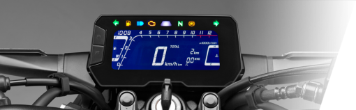 Honda CB300R street motorcycle - instrument panel