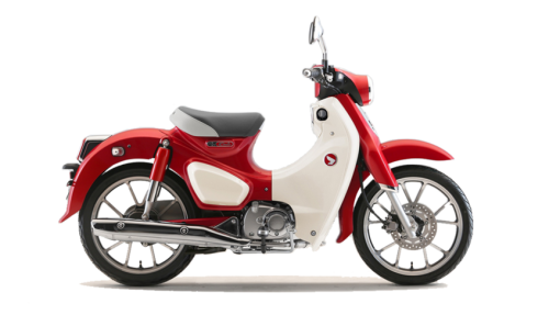 Honda Super Cub C125 motorcycle 2019 - Pearl Nebula Red