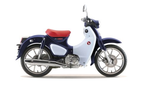 Honda Super Cub C125 2019 - Pearl Niltava Blue colour