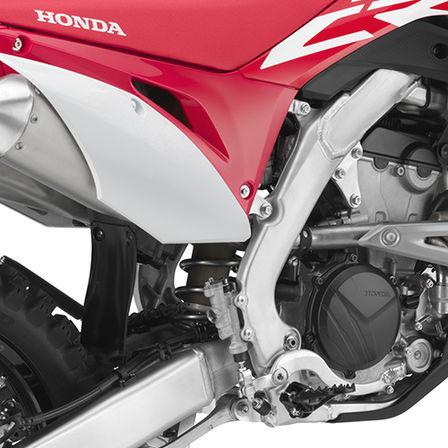 Honda CRF250R off-road bike - engine