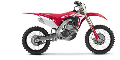 Honda CRF250R off-road bike - Forged for heat