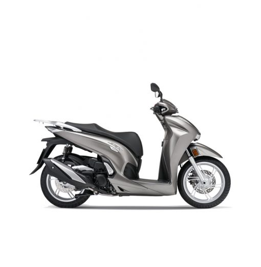 Honda SH350i scooter 2021 - Mat Ruthenium Silver Metallic colour